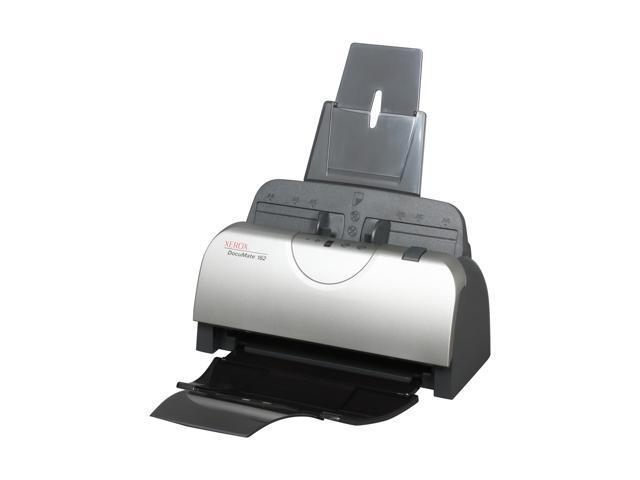 XEROX DocuMate 162 24 bit 600 dpi Duplex Sheetfed Document Scanner