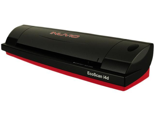 INUVIO ECSC-i4d Duplex Up to 600 dpi USB Card Specialized Scanner