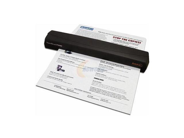 Ambir TravelScan Pro 600 PS600-03 24bit CMOS CIS Translator 600 x 600dpi Scanner