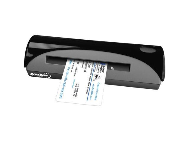 Ambir DocketPort 667 48bit Linear 600 dpi Document Scanner