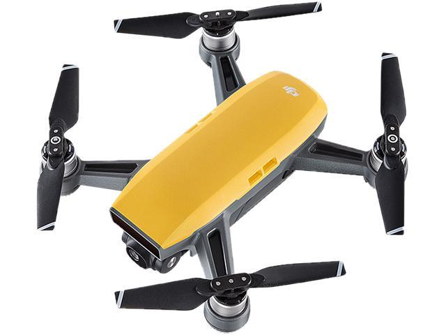 dji spark mini quadcopter drone fly more combo sunrise yellow. Black Bedroom Furniture Sets. Home Design Ideas