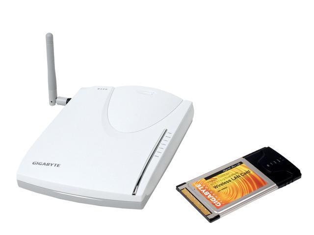 GIGABYTE GN-B49G-WMAG Wireless Router & kit IEEE802.3,802.3u,IEEE802.11b/g