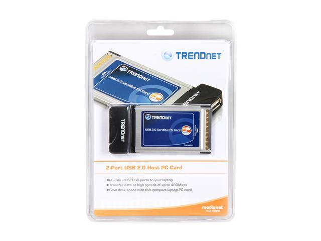 TRENDnet  TU2-H2PC  2-Port USB PC Card - Retail