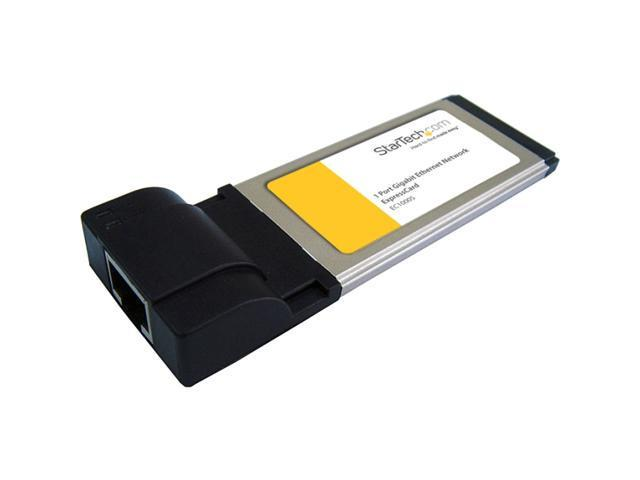 StarTech EC1000S ExpressCard Gigabit Ethernet Network Adapter Card
