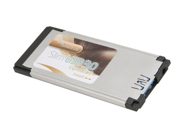 SYBA SD-EXP20070 USB 3.0 Type-II Slim Flush Mount ExpressCard/34mm for Laptop PC
