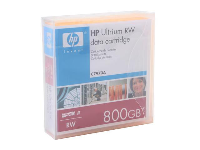 HP C7973A 400/800GB LTO Ultrium 3 Tape Media 1 Pack