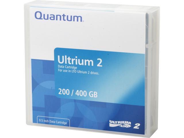 Quantum MR-L2MQN-01 200/400GB LTO Ultrium 2 Tape Media 1 Pack