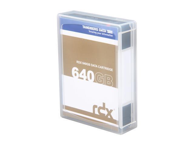 TANDBERG DATA 8592-RDX 640GB RDX QuikStor Cartridge 1 Pack