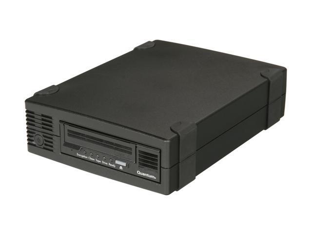 Quantum TC-L52BN-EZ Black 3TB LTO Ultrium 5 Half Height Tape Drive w/ SAS HBA Card