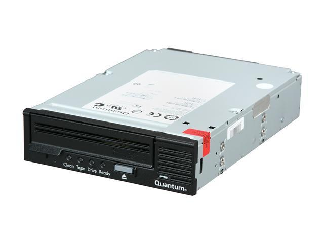 Quantum TC-L32AN-BR-B Black 800GB Internal 3GB/S SAS Interface LTO Ultrium 3 Tape Drive, Half Height, Model B