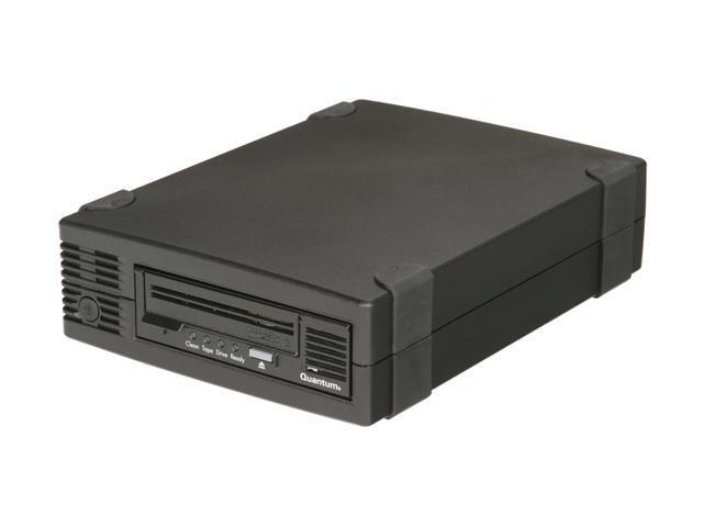 Quantum TC-L32BX-EY-B Black 800GB LTO Ultrium 3 Tape Drive, Half Height, Model B, Tabletop Kit