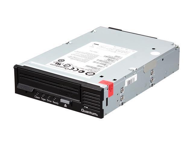 Quantum TC-L42AN-EY-B Black 1.6TB LTO Ultrium 4 Tape Drive, Half Height, Model B, Internal Kit