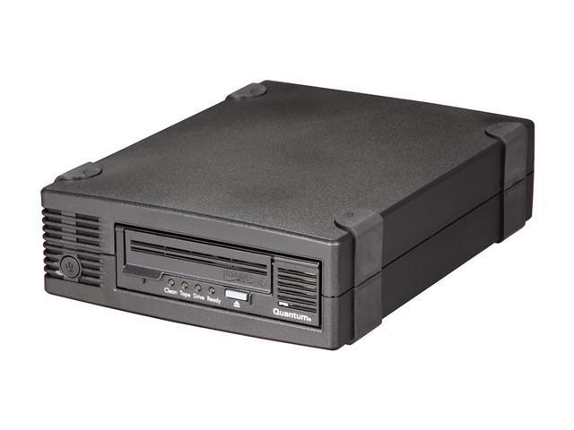 Quantum TC-L42BN-EY-B Black 1.6TB LTO Ultrium 4 Tape Drive, Half Height, Model B, Tabletop Kit