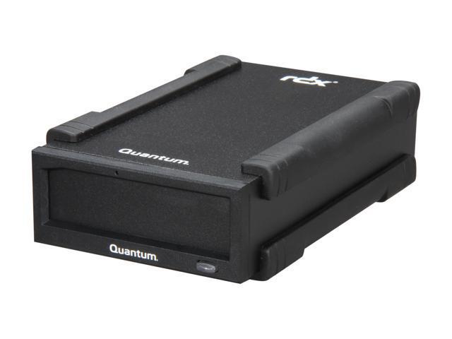 Quantum TR050-CTDB-S1BA Black External USB 2.0 Interface RDX RDX Cartridge Hard Drive with Docking Station