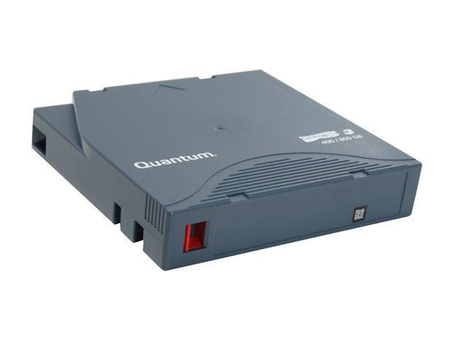 Quantum MR-L3MQN-01 400/800GB LTO Ultrium 3 Tape Media 1 Pack