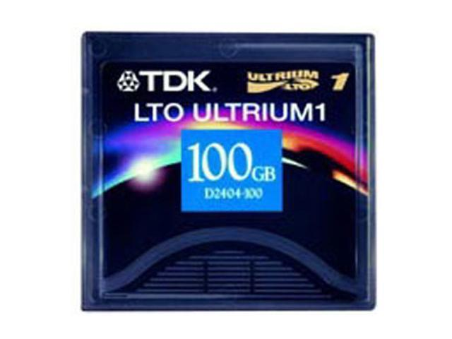 TDK D2404-100AX LTO Ultrium 1 Tape Media