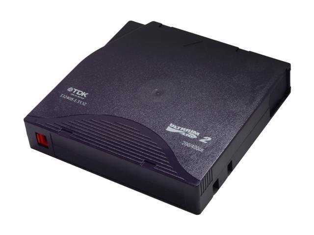 TDK D2405-LTO2 200/400GB LTO Ultrium 2 Tape Media 1 Pack