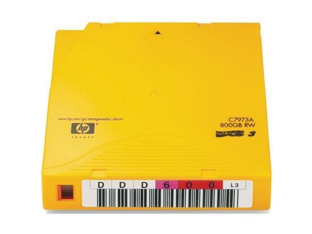 HP C7973AN 400/800GB LTO Ultrium 3 Tape Media 20 Packs