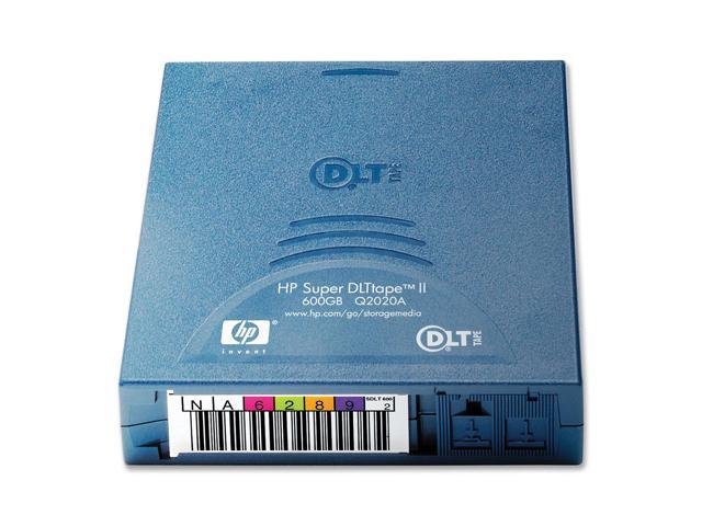 HP Q2020A 300/600GB Super DLTtape II Tape Media 1 Pack