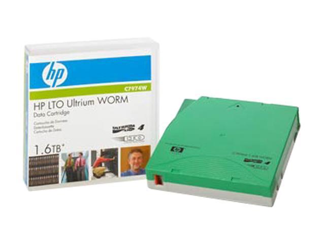 HP C7974W 800/1600GB LTO Ultrium 4 WORM Data Tape Cartridge 1 Pack