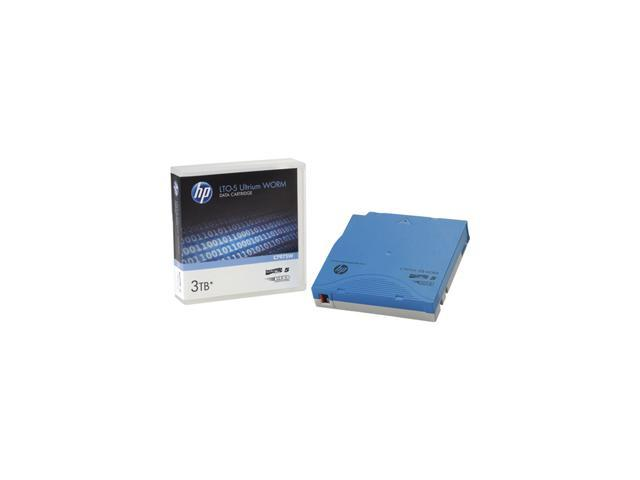 HP C7975AL LTO Ultrium 5 Data Cartridge with Custom Barcode Labeling