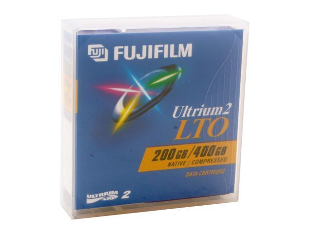 FUJIFILM 600003229 200/400GB LTO Ultrium 2 Tape Media 1 Pack