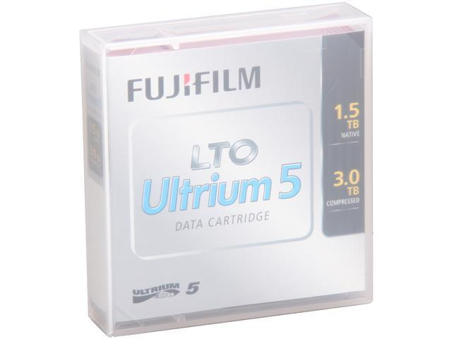 FUJIFILM 16008030 1.5/3.0TB LTO Ultrium 5 Data Cartridge 1 Pack