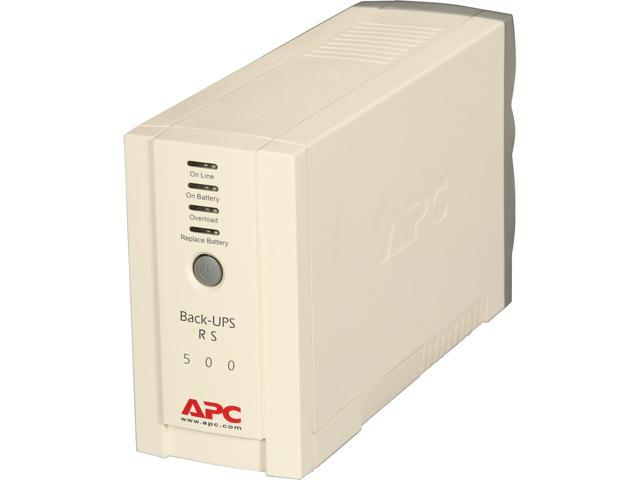 APC BR500 500 VA 300 Watts UPS
