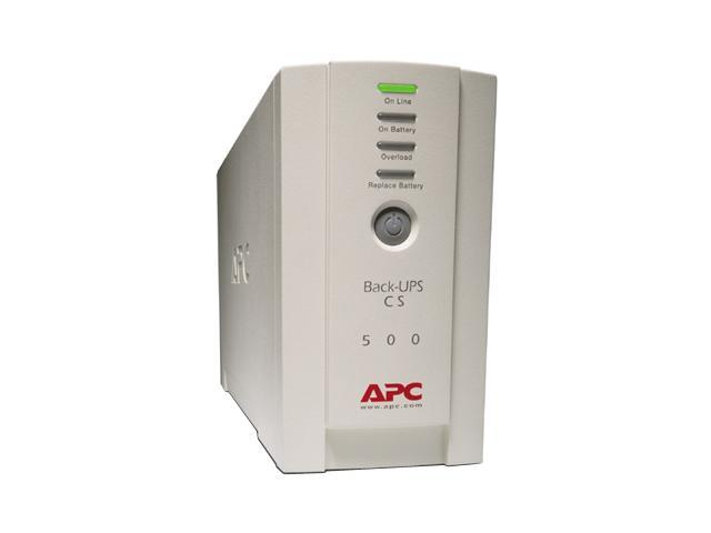 APC BK500EI 500 VA 300 Watts Back-UPS CS 500 USB/Serial European Version - 240V