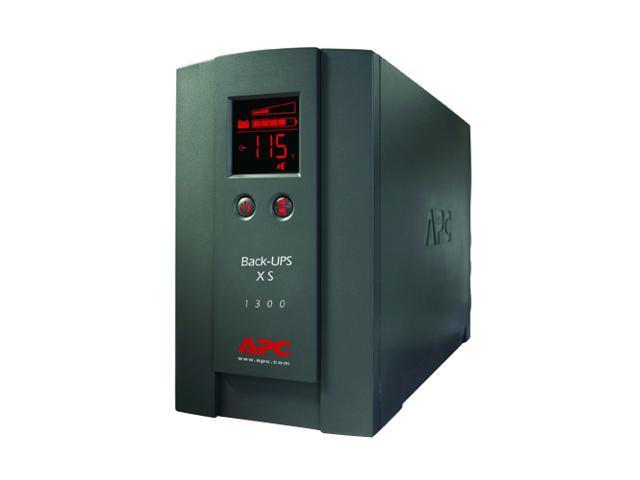 APC BX1300LCD 1300 VA 780 Watts BACK-UPS XS 1300VA LCD 120V