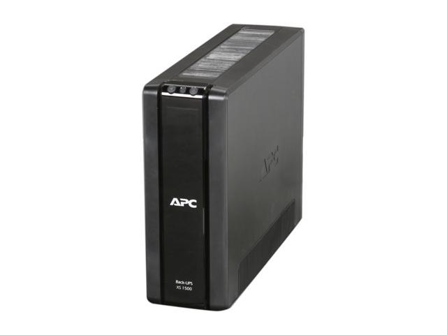 APC BX1500G 1500 VA 865 Watts Power-saving Back-UPS XS