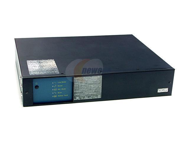 powercom KIN-1500APRM 1500 VA 900 Watts UPS