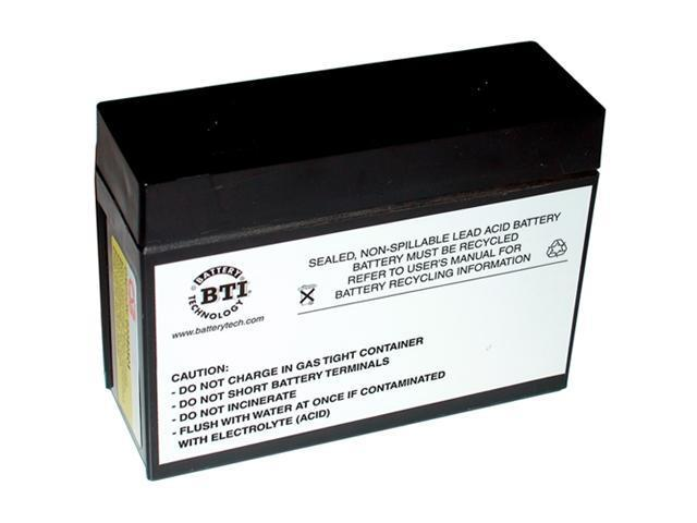 BTI Replacement UPS Battery For APC RBC10