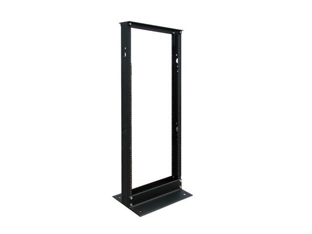 2-Post Open Frame Rack Server Cabinet 25U