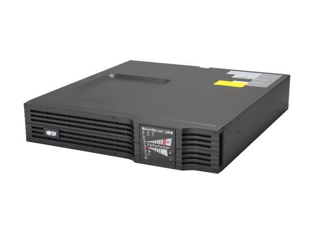 TRIPP LITE SU2200RTXL2UA 2200 VA 1600 Watts SmartOnline Expandable 2U Rack / Tower UPS System - Recertified by Tripplite