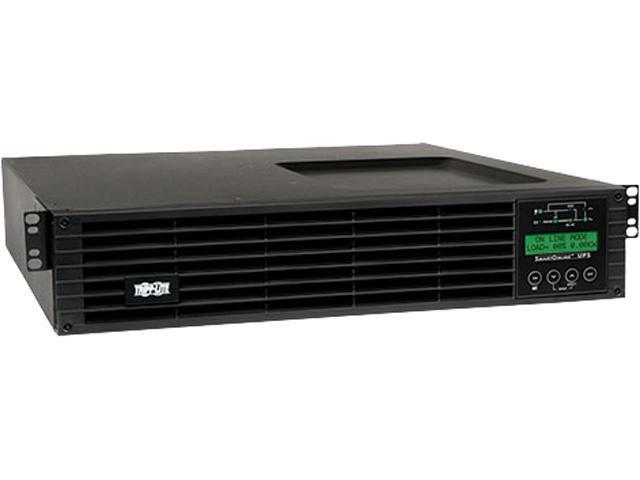 TRIPP LITE 1500VA 1350W UPS Smart Online 120V w Installed SNMPWEBCARD 2URM
