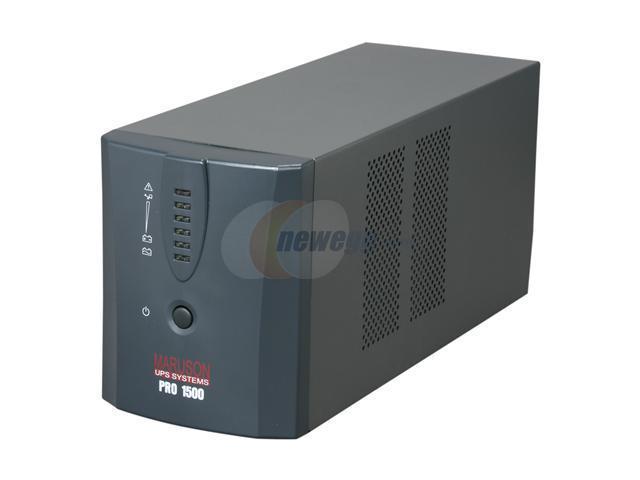 MARUSON PRO-1500USA 1500 VA 840 Watts UPS BATTERY BACKUP