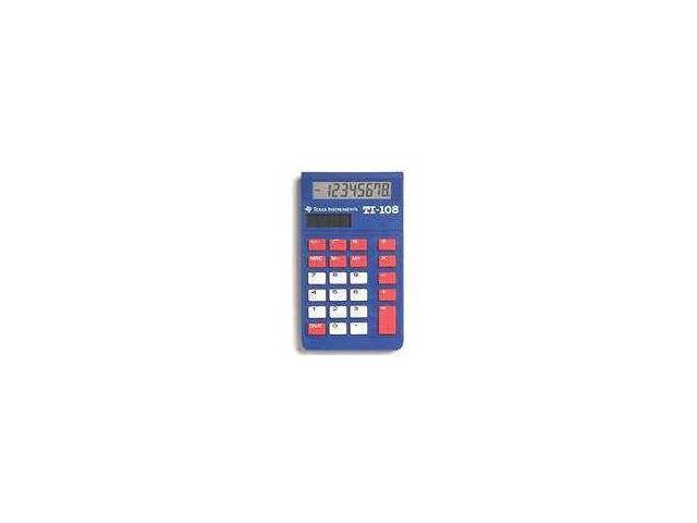 Texas Instruments TI108TK TI-108 Calculator Teacher Pack - 10 units