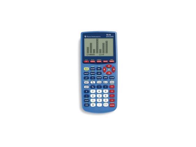 Texas Instruments TI-73 Graphics Calculator Blue (Teacher's 10 Pack)