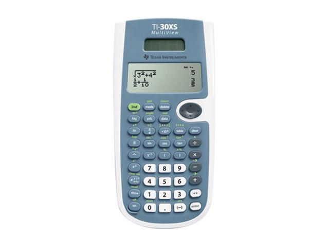 Texas Instruments 30XSMV/BK scientific calculators