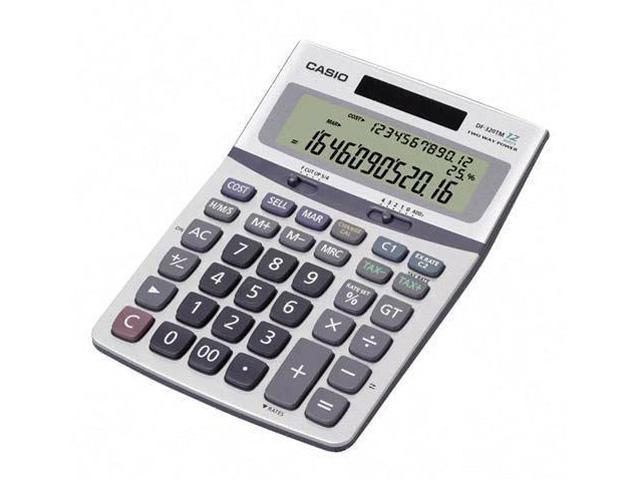 Casio DF-320TM Solar Desktop Calculator With Battery