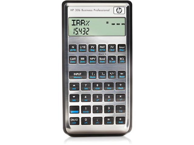 HP 30b (NW238AA#ABA) Business Professional Calculator