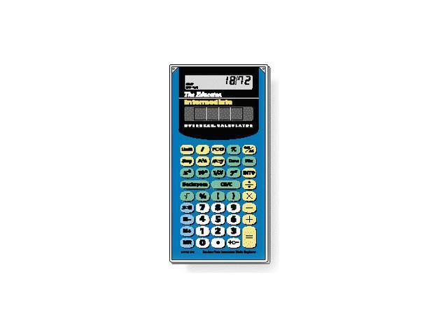 Stokes Publishing TI204TK Overhead calculator with 1 display lines
