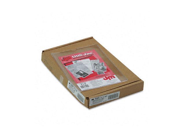 Oxford 65009 Utili-Jacs Heavy-Duty Clear Vinyl Envelopes, 6 x 9, 50/Box
