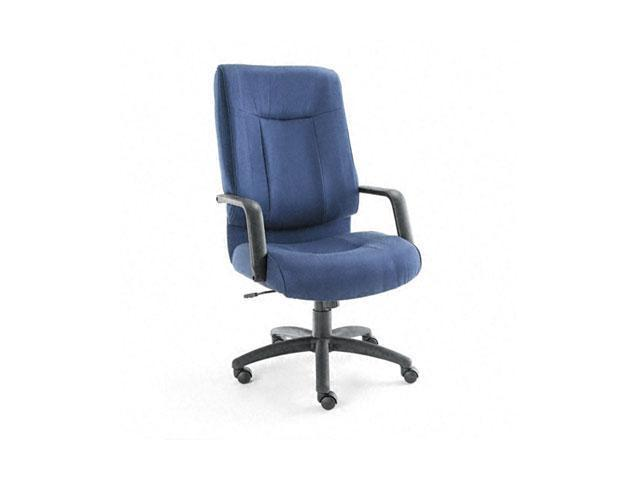 Alera ST41FA20B Stratus Series High-Back Swivel/Tilt Chair, Blue Fabric