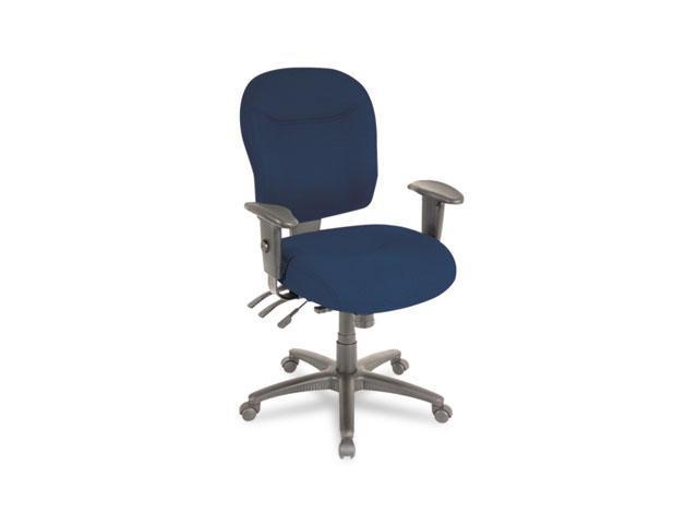 Alera WR42FB20B Wrigley Series High Performance Mid-Back Multifunction Chair, Blue