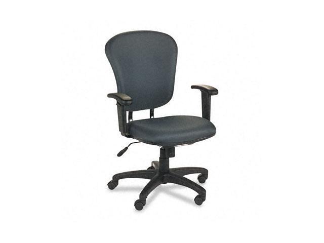 basyx VL620VA19 VL600 Series Mid-Back Swivel/Tilt Task Chair, Charcoal