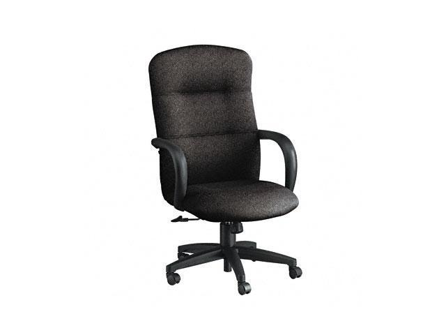 HON 3301BE11T Allure Executive High-Back Swivel/Tilt Chair, Raven Fabric
