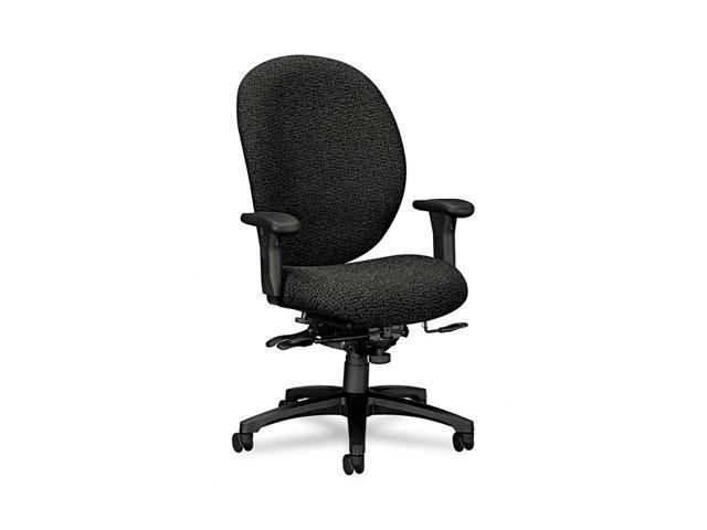 HON 7608BW19T Unanimous High-Performance High-Back Executive Chair, Iron Gray Fabric