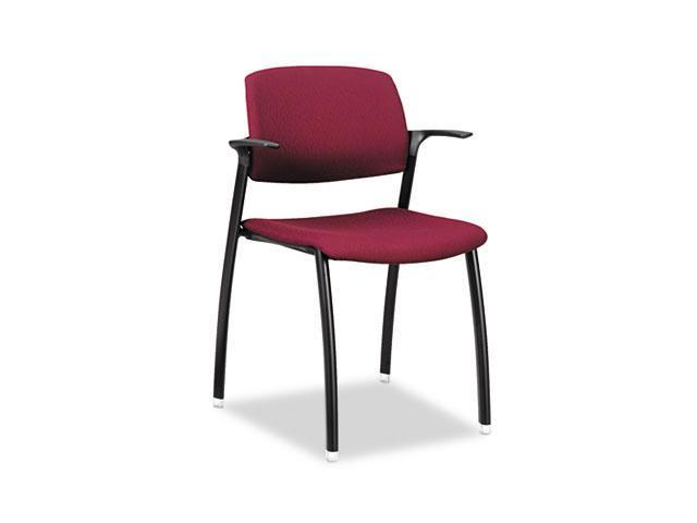 HON FGC2ENT69T F3 Series Guest Arm Chair, Wine Upholstery